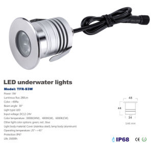 LED Light IP68 Swimming Pool Lighting pictures & photos