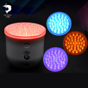 Hot Selling Home Use LED Skin Rejuvenation Light Therapy in Red, Blue, Green, Purple Colors with 2 Degree Vibration LED Light Photon Machine pictures & photos