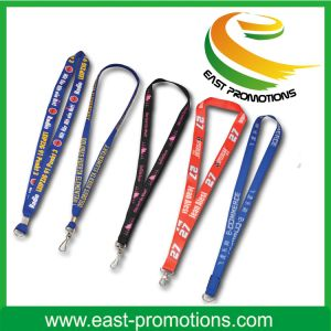 Customized Polyester Lanyard with Logo pictures & photos