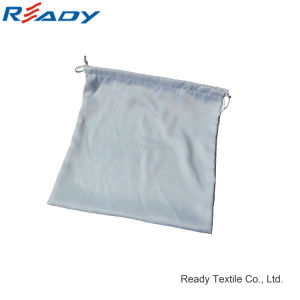 Customize White Satin Drawstring Dust Pouch for Shoes Gift pictures & photos