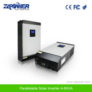 N+X Parallelable Solar Charger Inverter 4kVA/5kVA pictures & photos