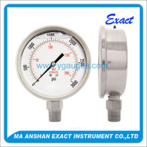 Heavy Duty Pressure Gauge, All Stainless Steel (Liquid Filled Gauge) pictures & photos