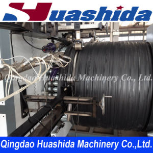 HDPE Hollow Wall Spiral Pipe Extruder Machine pictures & photos