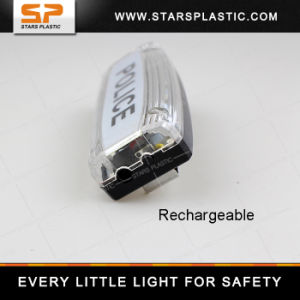 Double Sided Rechargeable LED Police Shoulder Light pictures & photos