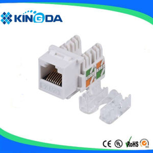 High quality UTP CAT6 keystone jack, 90 degree pictures & photos