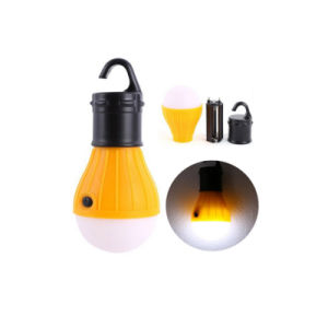 Tent Camping Dry Battery Supported LED Bulb Lantern with Hook pictures & photos