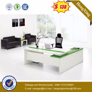 China Melamine Office Table L Shape Computer Desk Office Furniture ...