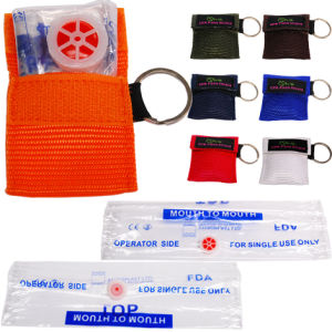 CPR Mask In A Key - Ring Woven Bag pictures & photos