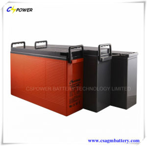 Long Design Life Front Terminal Battery FT12-80ah for Solar Power pictures & photos