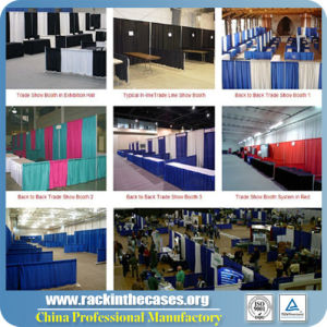 Trade Show Booth Exhibition Stand Pipe and Drape pictures & photos