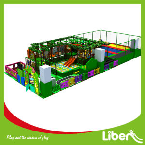 Jungle Gym Indoor Playground with Trampoline Area pictures & photos