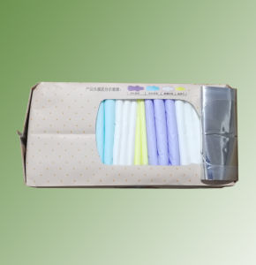 Maxi Size Colorful Indididual Wrap Sanitary Napkin for Menstrual Period pictures & photos