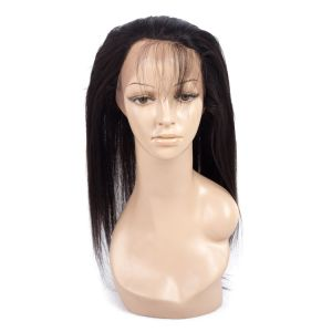 Brazilian Straight Lace Frontal Closure Mocha Virgin Hair pictures & photos