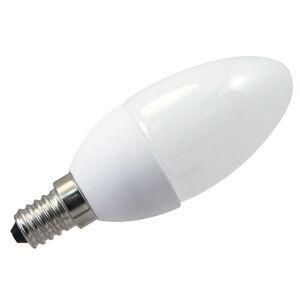 Silver C37 Die-Casting Aluminum Bulb 4W E27 LED candle Bulb pictures & photos
