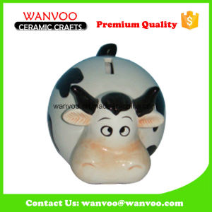 Ceramic Cute Farm Cows Coin Box of Home Accessory Decoration pictures & photos