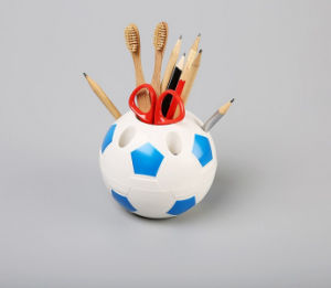 Useful Plastic Football Pen Holder pictures & photos