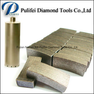 Masonry Drilling Use and Diamond Material Core Drill Bits Segment pictures & photos