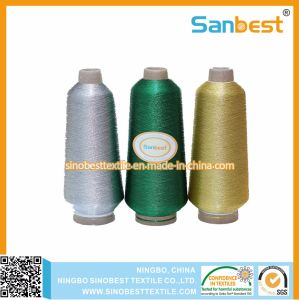 Metallic Embroidery Thread with Polyester or Rayon Core Yarn pictures & photos