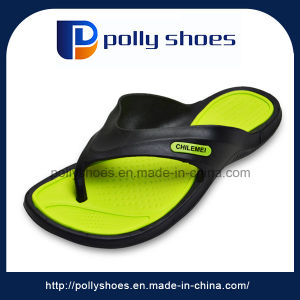 Hotel Used Casual Yellow House Safety Men Shower Slipper pictures & photos