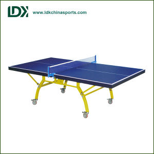 Double Folding Indoor MDF Table Tennis Table pictures & photos