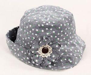 Floral Little Turn up Brim Bucket Hat pictures & photos
