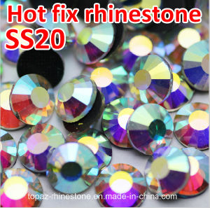 Flat Back Rhinestones in Bluk Ss20 Crystal Ab Non Hot Fix Rhinestone (FB-ss20 crystal ab/4A) pictures & photos