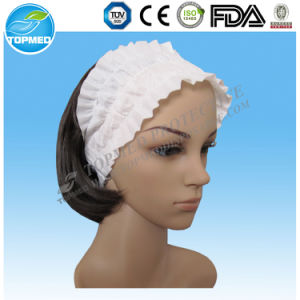 Doctor Cap Blue Color Disposable Non Woven Surgical Doctor Cap pictures & photos