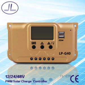 PWM Solar System Charge Controller 40A pictures & photos