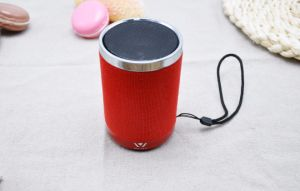 Daniu Brand 3W Wsa-8617 New Fabric HiFi Bluetooth Speaker Private Model Multifunctional Mini Speaker Desktop Speaker