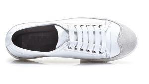 Different Colors Comfortable Leather Sneaker (CAS-003/004/005) pictures & photos