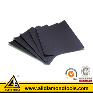 Slicon Carbide Hook & Loop Sanding Sheet (E-wet/D-wet) pictures & photos