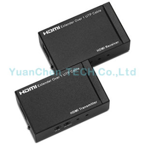 Support 3D 1080P 1.4V 60m HDMI Extender with IR pictures & photos
