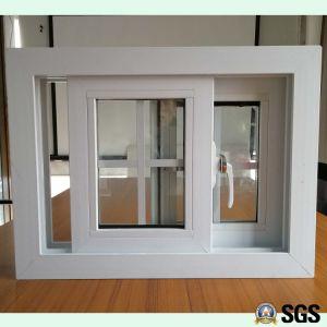 White Colour UPVC Profile Sliding Window, UPVC Window, Window K02099 pictures & photos