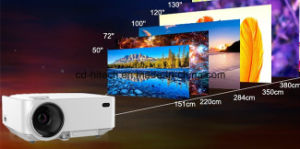 Best Seller! Mini WiFi LCD Projector for Home, Business and Education