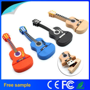 New PVC Guitar Shaped USB Flash Disk