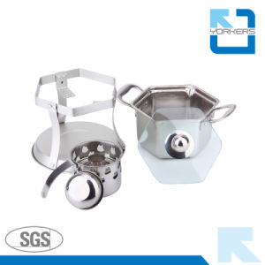 Eco-Friendly and Healthy Use Stainless Steel Alcohol Hot Pot & Stock/Soup Pot pictures & photos