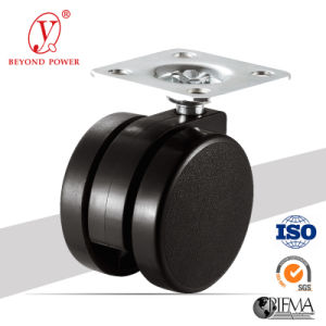 High Performance Caster Swivel Office Chair Caster Stable Quality Rubber Wheel Top Plate Caster Wheel Furniture Castor pictures & photos