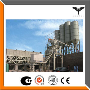 High Quality Mobile Concrete Batching Mixing Plant Used for Construction Machinery and Equipment pictures & photos