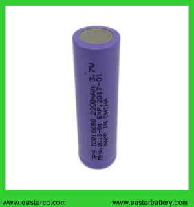 Ce / UL Certificated 18650 3.7V 2200mAh Rechargeable Battery pictures & photos
