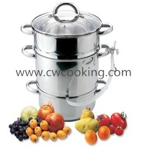 8L-4PCS Stainless Steel Juice Steamer pictures & photos