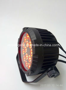 Outdoor Rgbwauv 6 In1 18*15W LED Flat PAR pictures & photos