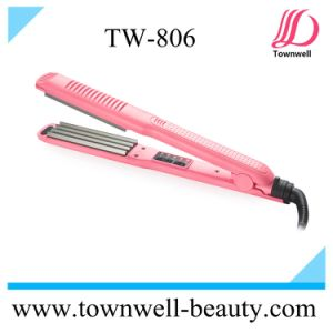 Multi Function LED Digital Hair Straightener with Different Plates pictures & photos