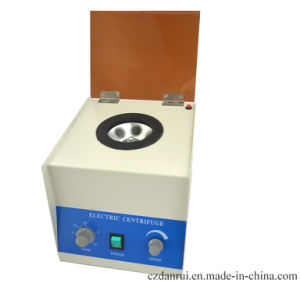 Cheap Lab 6 Tubes Centrifuge for Blood pictures & photos