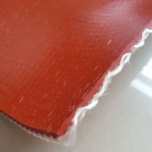 96 Oz Firesleeve Fireblanket High-Temperature Silicone Rubber Coated Fiberglass Fabric pictures & photos
