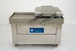 Double Chamber Vacuum Packing Machine with Double Pump pictures & photos