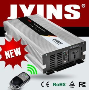 2000watt 12V/24V/48V DC to AC 100V/110V/120V Solar Power Inverter pictures & photos