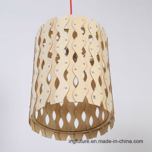 DIY Creative Wooden Healthy Moire Chandelier pictures & photos