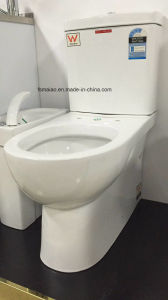 Australian Standard Watermark Washdown Closed-Couple Toilet Suite (8011) pictures & photos