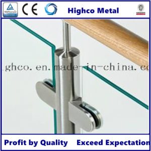 Stainless Steel Railing / Balustrade with Glass Clamp pictures & photos