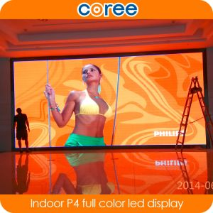 Indoor High Definition SMD P4 Full Color LED Screen pictures & photos